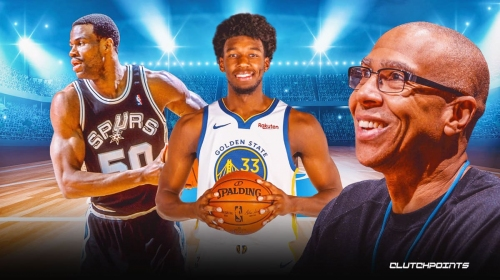 Warriors rookie James Wiseman gets intriguing David Robinson comparison from Mychal Thompson