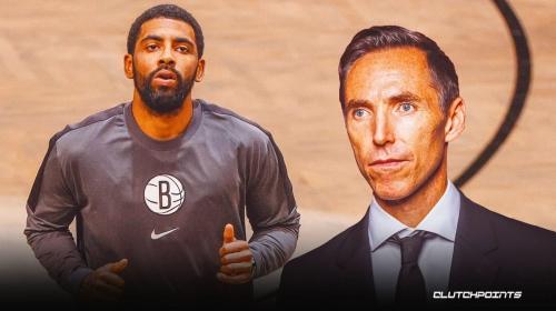 Nets coach Steve Nash speaks out on Kyrie Irving's shoulder injury