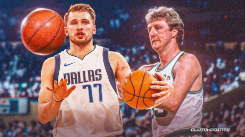 Mavs superstar Luka Doncic reacts to Larry Bird comparisons