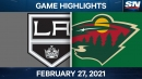 Dumba scores in final second of OT to lift Wild over Kings