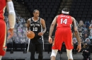 Shorthanded Spurs persevere to squeak past Pelicans