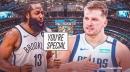 James Harden calls Luka Doncic a 'special one,' Mavs star responds