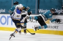 A wild and wooly 7-6 Blues win snaps losing streak