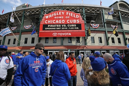 There could be some fans in Chicago ballparks on Opening Day