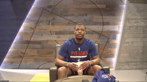 Detroit Pistons guard Dennis Smith Jr.: 'I worked hella hard' on my 3-point shot