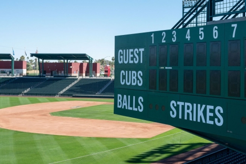 Cubs spring games this year are likely to be mostly seven innings long