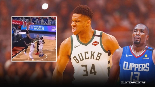 VIDEO: Bucks star Giannis Antetokounnmpo embarrasses Clippers' Serge Ibaka twice in 1 minute