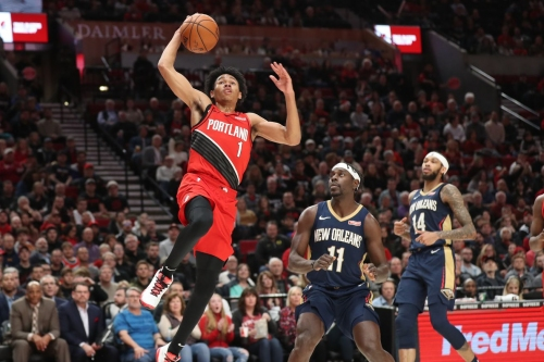 Anfernee Simons Will Compete In Dunk Contest