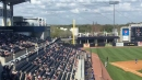 Gleyber Torres hits a double in Yankees exhibition opener