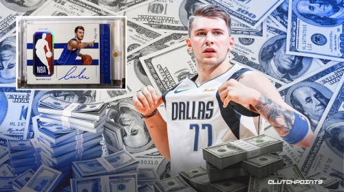 Mavs star Luka Doncic's ultra-rare rookie card sold for absurd price