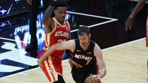 Heat thrive in closing time in absence of Butler, down Hawks 109-99