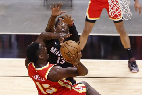 Close but not enough, Hawks fall 109-99 to the Miami Heat