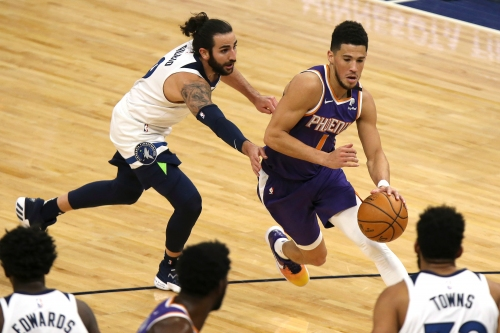 Devin Booker erupts for 43, Phoenix Suns top Minnesota Timberwolves