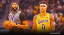 Kyle Kuzma reacts to Lakers bench demotion even with Anthony Davis out