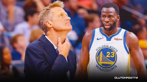 Steve Kerr on Draymond Green's condition after leaving game with injury