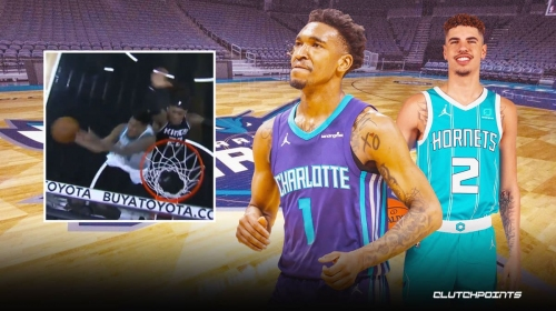 Video: Malik Monk's epic game-winning and-1 steals win over Kings