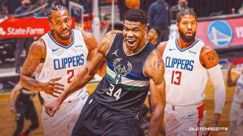 Bucks star Giannis Antetokounmpo's prideful reaction to taking over vs. Kawhi Leonard, Paul George