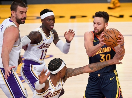 Lakers Highlights: All-Around Effort Dominates Warriors