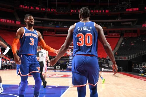 "Knicks 109, Pistons 90: ""This team is a pleasure to root for"""