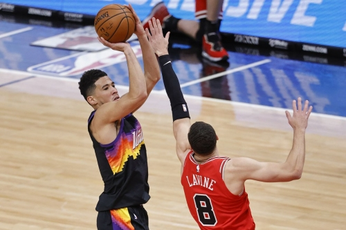 Suns guard Devin Booker named Western Conference Player of the Week