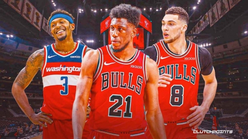 Bulls' Thaddeus Young reacts to shocking trade poll