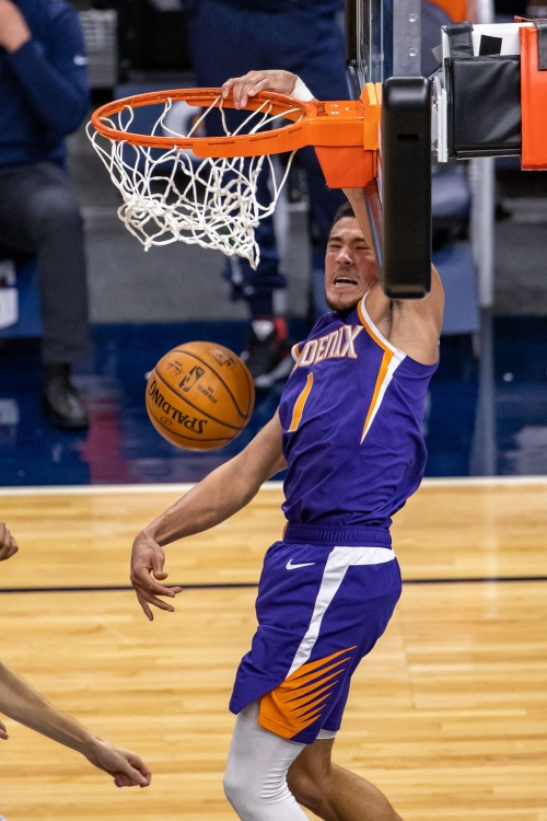 Phoenix Suns: Look back at Devin Booker's 43-point explosion, ahead to showdown vs. LeBron James, L.A. Lakers
