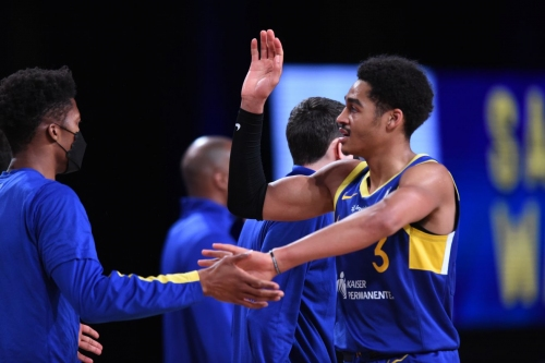 Report: Warriors recalling Nico Mannion and Jordan Poole from G League