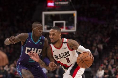 Charlotte Hornets at Portland Trail Blazers game thread