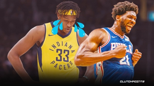Joel Embiid's savage comments on matchup with Myles Turner