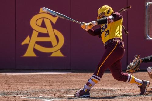 ASU Softball: Maddi Hackbarth blasts two home runs in win over Utah