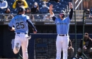 Is the Mariners' Cactus League game on TV today? Not quite as often as in spring training's past