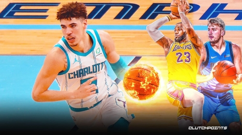 LaMelo Ball joins LeBron James and Luka Doncic after fiery February