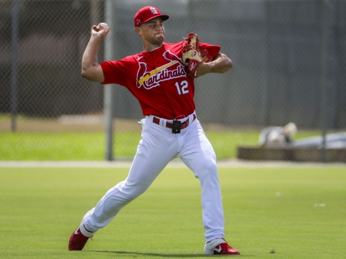 Cardinals notebook: Hicks makes an impression as he faces Redbirds hitters