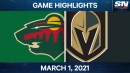 Stone assists on all five Golden Knights goals in comeback victory against Wild