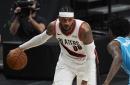 Carmelo, Covington Lead Resurgent Blazers over Hornets