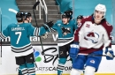 Colorado Avalanche collapse in San Jose for another embarrassing 6-2 loss