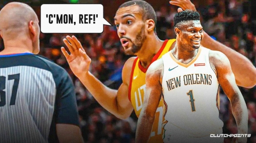 Jazz star Rudy Gobert calls out Zion Williamson for 'elbow-first' jumps that refs miss