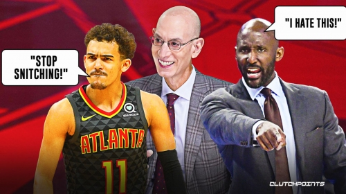 Hawks' Trae Young's foul-baiting attempts drew ire of Lloyd Pierce on NBA call