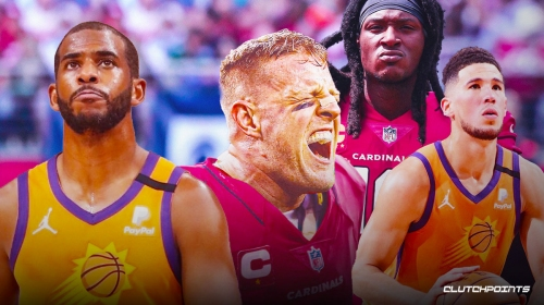 Suns' Chris Paul reacts to J.J. Watt joining Cardinals, Watt responds