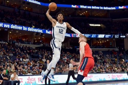 Live updates   Memphis Grizzlies face Washington Wizards