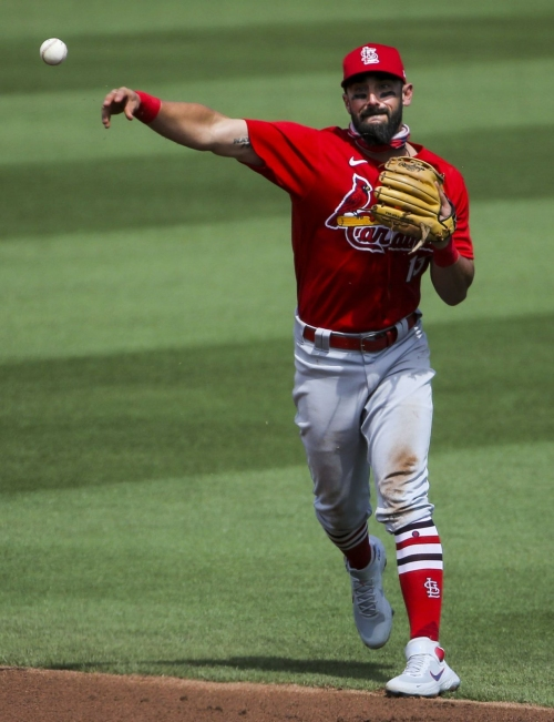 Notebook: Cardinals' Carpenter shines in return to second base but hits into hard luck