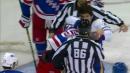 Cozens tries to spark Sabres, fights Rangers' Lindgren