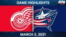 Atkinson powers Blue Jackets to win over Red Wings