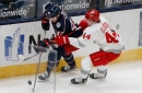 Detroit Red Wings implode in second period in 4-1 loss to Columbus Blue Jackets