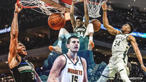 VIDEO: Bucks star Giannis Antetokounmpo freezes Nikola Jokic with 3-straight dunks