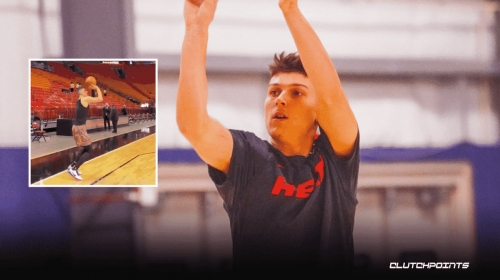 VIDEO: Tyler Herro back on the grind right after brutal night for Miami