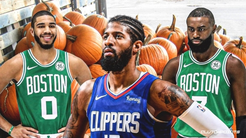 Celtics stars Jaylen Brown, Jayson Tatum quietly turned Paul George into a pumpkin on offense