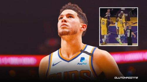 [WATCH] Video proof of Devin Booker's ejection during Suns vs. Lakers game