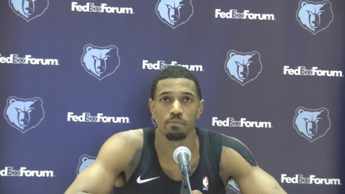De'Anthony Melton on career high six 3-pointers in Grizzlies' win over Wizards