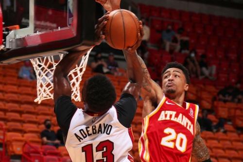 Hawks exact revenge on Heat behind balanced effort